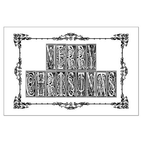 Merry Christmas Large Poster