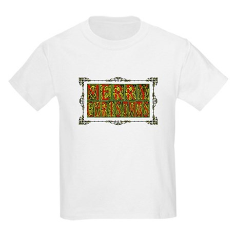 Merry Christmas Kids Light T-Shirt