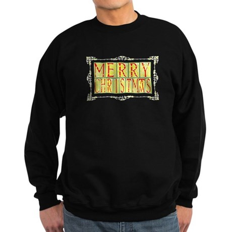 Merry Christmas Sweatshirt (dark)