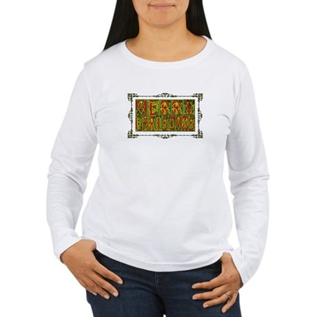 Merry Christmas Women's Long Sleeve T-Shirt