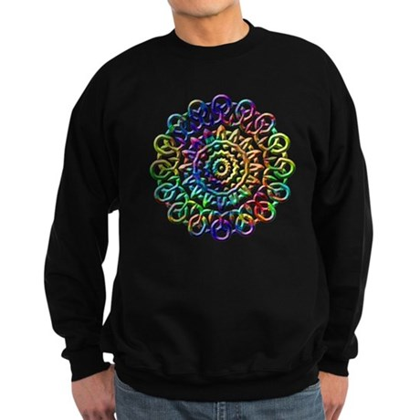 Rainbow Knots Sweatshirt (dark)
