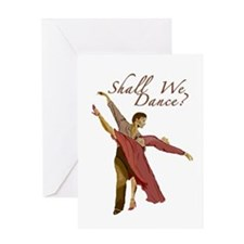 Shall We Dance? Greeting Card
