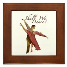 Shall We Dance? Framed Tile