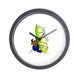 Cute Windsurf Wall Clock