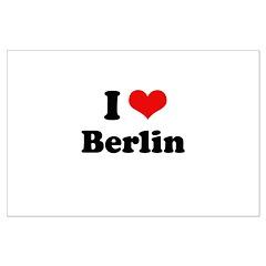 I love Berlin Large Poster