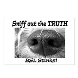 Anti-BSL Postcards (Package of 8)