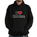 I love Houston Hoodie (dark)
