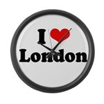 I love London Large Wall Clock