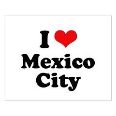 I love Mexico City Posters