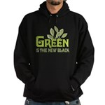 Green is the new black Hoodie (dark)