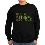 Reuse Reduce Recycle Sweatshirt (dark)