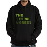 The Future is Green Hoodie (dark)