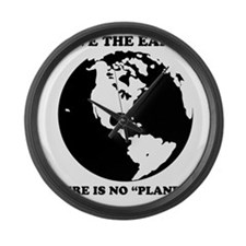 There is no global warming Large Wall Clock