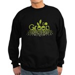 Go Green Sweatshirt (dark)