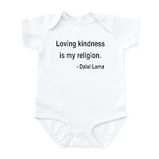 Dalai Lama 22 Infant Bodysuit