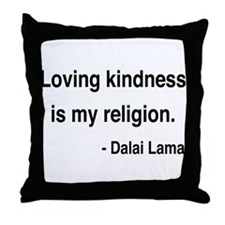 Dalai Lama 22 Throw Pillow