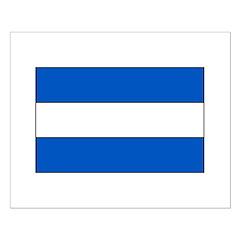 El Salvador Flag Small Poster