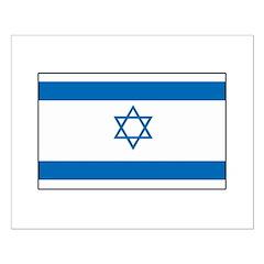 Israeli Flag Small Poster