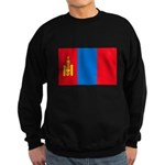 Mongolian Flag Sweatshirt (dark)