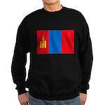 Mongolian Flag Sweatshirt (dark)