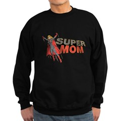 Super Mom / Mother's Day Sweatshirt (dark)