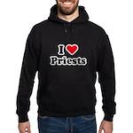 I love priests Hoodie (dark)