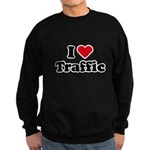 I love traffic Sweatshirt (dark)