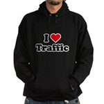 I love traffic Hoodie (dark)