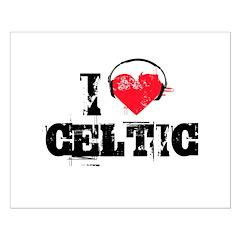 I love celtic Small Poster