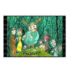 Falstaff Postcards (Package of 8)