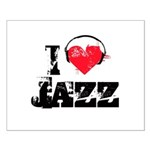 I love jazz Small Poster