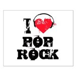 I love pop rock Small Poster
