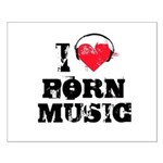 I love porn music Small Poster