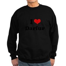 I love Darfur Sweatshirt
