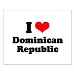 I love Dominican Republic Small Poster