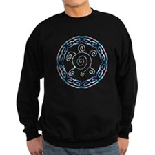 Spiral Turtles Sweatshirt (dark)