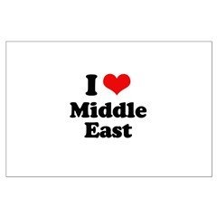 I love Middle East Posters