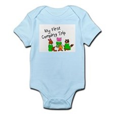 My First Camping Trip Infant Bodysuit