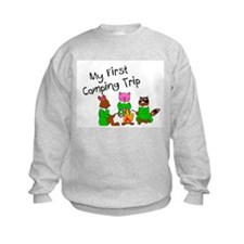 My First Camping Trip Sweatshirt