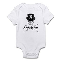Dentistry Skull Infant Bodysuit