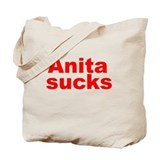 Anita Bryant Sucks Tote Bag