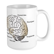 Brain Section Coffee Mug