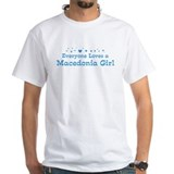 Loves Macedonia Girl Shirt