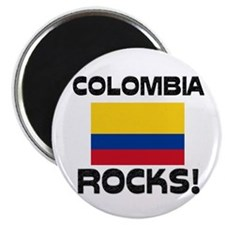Colombia Rocks! Magnet