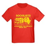 Socialists Obama Kids Dark T-Shirt
