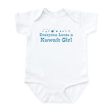 Loves Kuwait Girl Infant Bodysuit