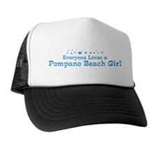 Loves Pompano Beach Girl Trucker Hat