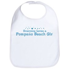Loves Pompano Beach Girl Bib