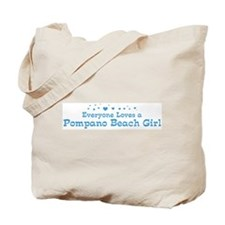 Loves Pompano Beach Girl Tote Bag