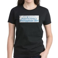 Loves Philippines Girl Tee